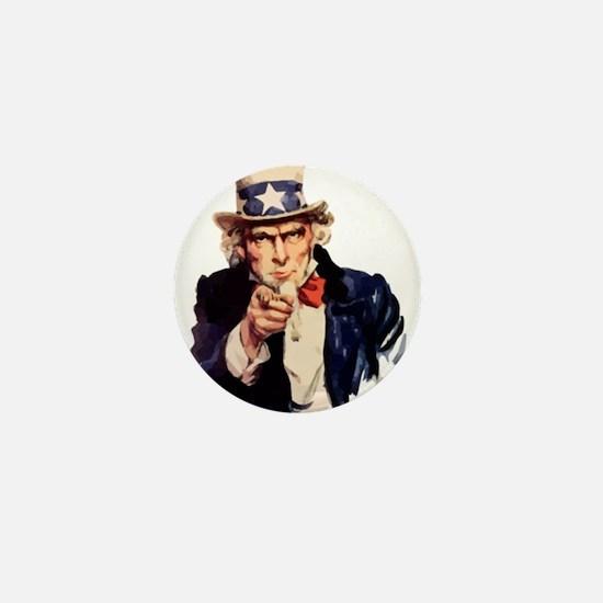 Uncle Sam Mini Button