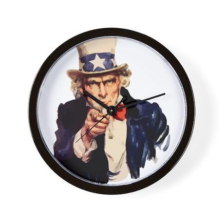 Uncle Sam Wall Clock