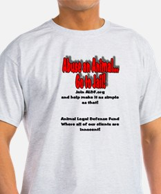 Unique Support end abuse animals T-Shirt