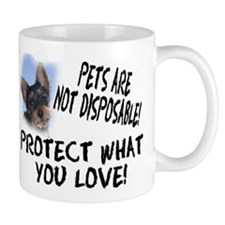 Pets are Not Disposable... Mug (2-sided)
