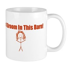 #1 Groom Girl Small Mug
