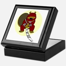 Japanese Killer Ninja Beaver Keepsake Box