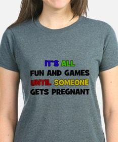 Fun and Games Pregnant Tee