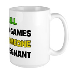 Fun and Games Pregnant Mug