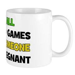 Fun and Games Pregnant Mug