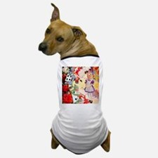 PAINTING THE QUEEN'S ROSES RED Dog T-Shirt