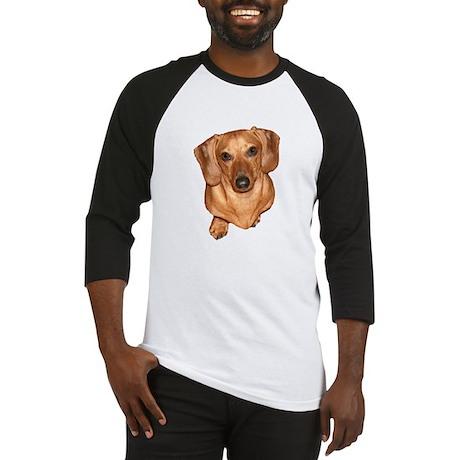 Tiger Dachshund Dog Baseball Jersey