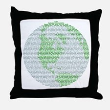 Creation Story Throw Pillow