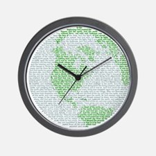 Creation Story Wall Clock