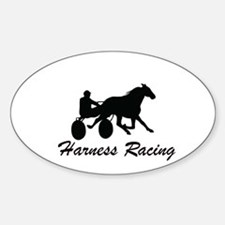 Harness Racing Silhouette Decal