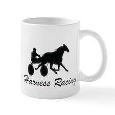 Harness Racing Silhouette Small Mug