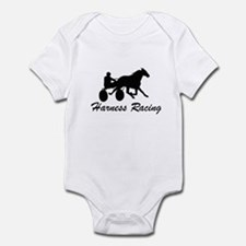 Harness Racing Silhouette Infant Bodysuit