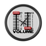 More Cowbell Large Wall Clock