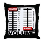 More Cowbell Throw Pillow