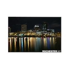 Rochester Skyline Rectangle Magnet (10 pack)