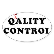 Qality Control Decal