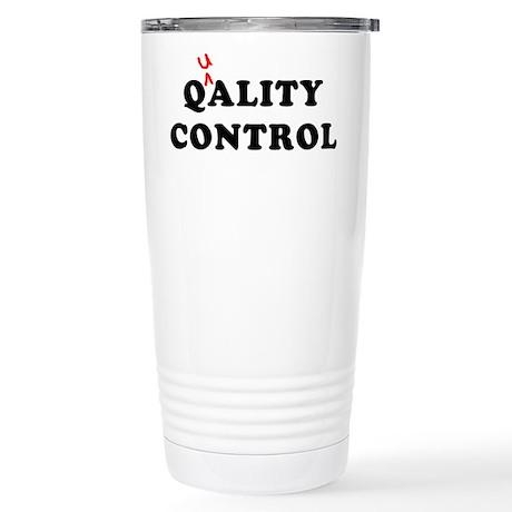 Qality Control Stainless Steel Travel Mug