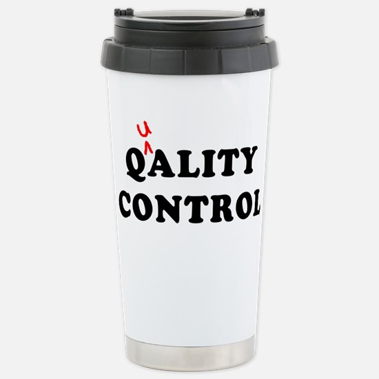 Qality Control Stainless Steel Travel Mug