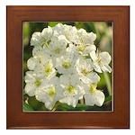 A Natural Bouquet Framed Tile