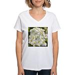 A Natural Bouquet Women's V-Neck T-Shirt