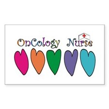 Cute Oncology nursing Decal
