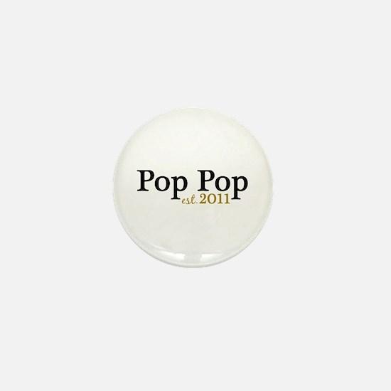 New Pop Pop 2011 Mini Button