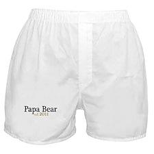 New Papa Bear 2011 Boxer Shorts