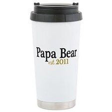 New Papa Bear 2011 Travel Mug