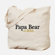 New Papa Bear 2011 Tote Bag