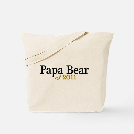 New Papa Bear 2011 Tote Bag