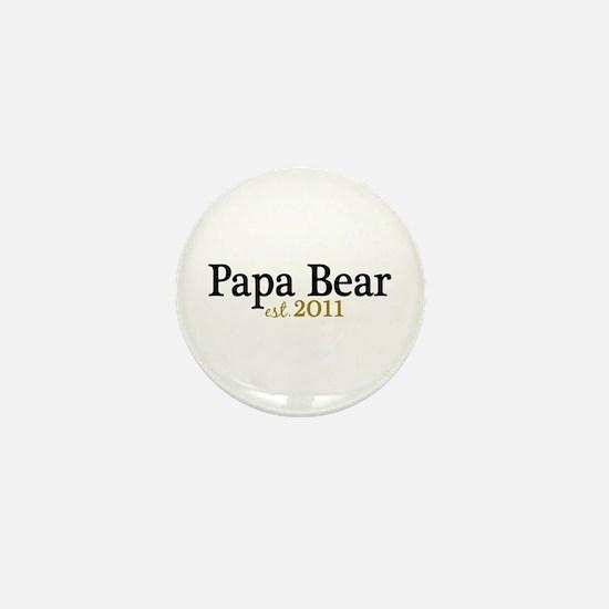 New Papa Bear 2011 Mini Button