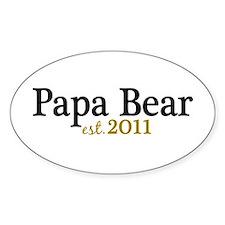 New Papa Bear 2011 Decal