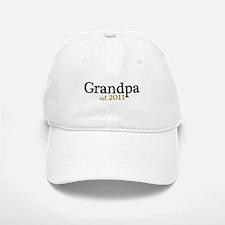 New Grandpa 2011 Baseball Baseball Cap