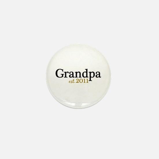 New Grandpa 2011 Mini Button