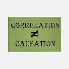 Correlation Causation Rectangle Magnet