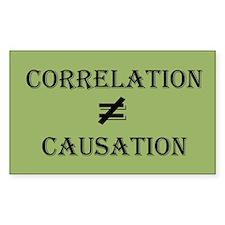 Correlation Causation Decal