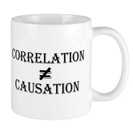 Correlation Causation Mug