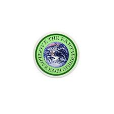 Earth Day Mini Button
