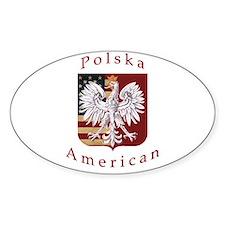 Polska American Tribute Stickers
