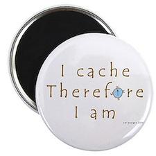 "Cute Manitoba geocaching logo gps cache hobby geocache 2.25"" Magnet (10 pack)"