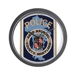 Anne Arundel County Police Wall Clock