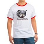 Genuine Native Wolf Ringer T