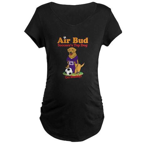 Air Bud Soccer Maternity Dark T-Shirt