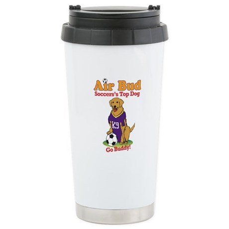 Air Bud Soccer Stainless Steel Travel Mug