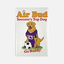 Air Bud Soccer Rectangle Magnet