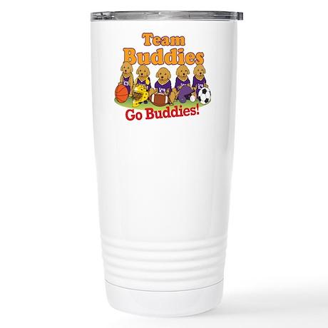 Team Buddies Stainless Steel Travel Mug