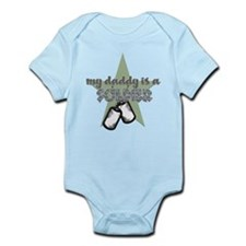 Daddy is a Soldier Boy Body Suit