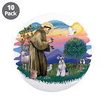 St Francis #2/ Schnauzer #2 3.5