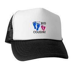 Big Cousin Baby Footprints Trucker Hat