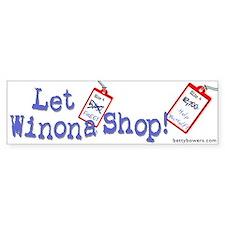 Let Winona Shop!
